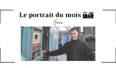   LE PORTRAIT DU MOIS   - Joris - Opérateur de moulage  - FONTREY