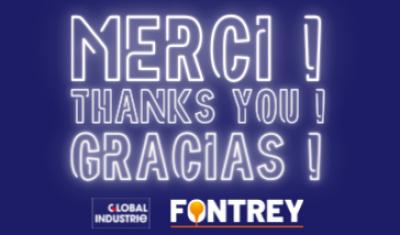 MERCI - GLOBAL INDUSTRIE 2021 - FONTREY, votre fonderie de fonte