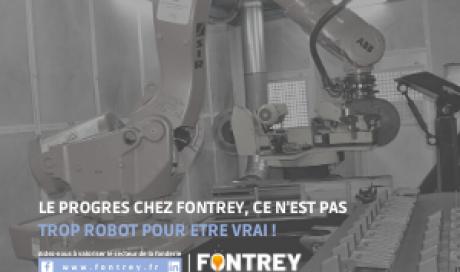 FONTREY, équipée en robotique depuis plus de 20 ans !