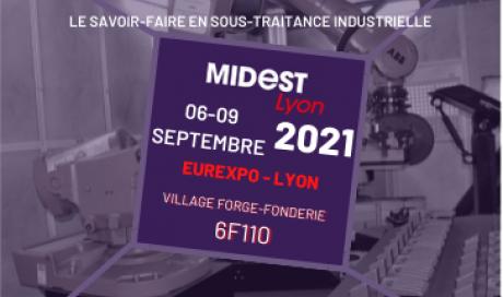 FONTREY présente au MIDEST 2021 / GLOBAL INDUSTRIE - Village Forge Fonderie - FONTREY, votre fonderie de fonte dans le Rhône