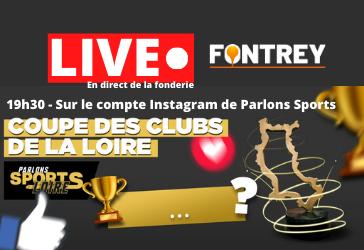 LIVE - COUPE DES CLUBS DE LA LOIRE à Commelle-Vernay