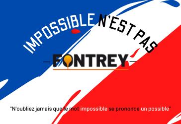 IMPOSSIBLE N'EST PAS FONTREY