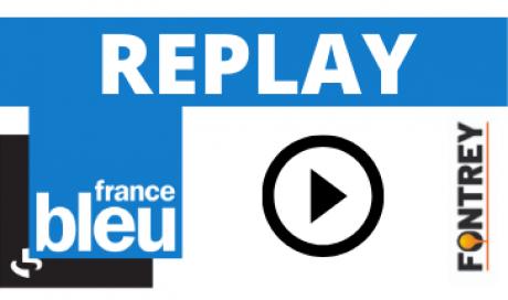 INTERVIEW FONTREY FRANCE BLEU SAINT-ETIENNE LOIRE