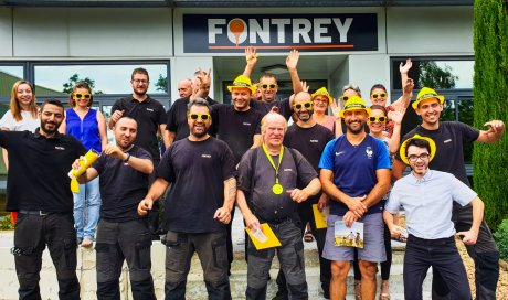 FONTREY, une PME aux avantages d'une grande entreprise grâce à son CE WII SMILE