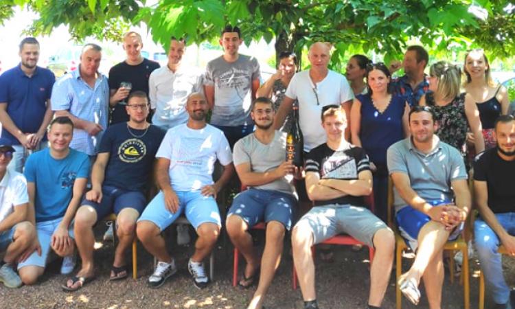 Photo d'équipe FONTREY, fonderie de fonte en Auvergne Rhône Alpes