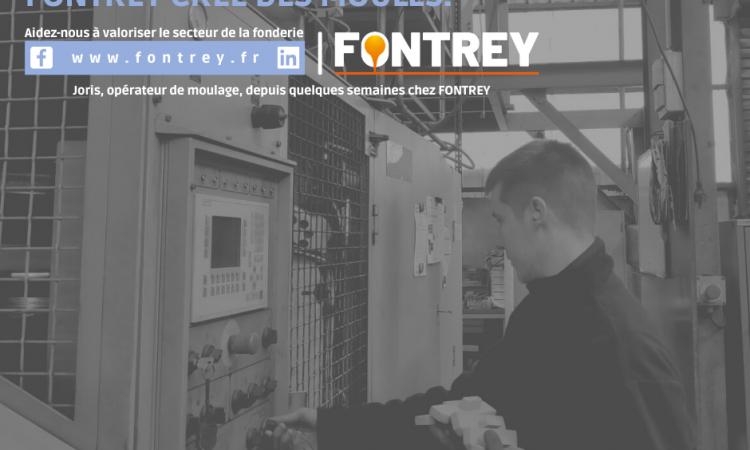 CAMPAGNE FONTREY AVRIL/MAI 2021 - PLUS BESOIN D'ALLER A LA PECHE, FONTREY CREE DES MOULES - Opérateur de moulage - Fonderie de fonte dans la Loire